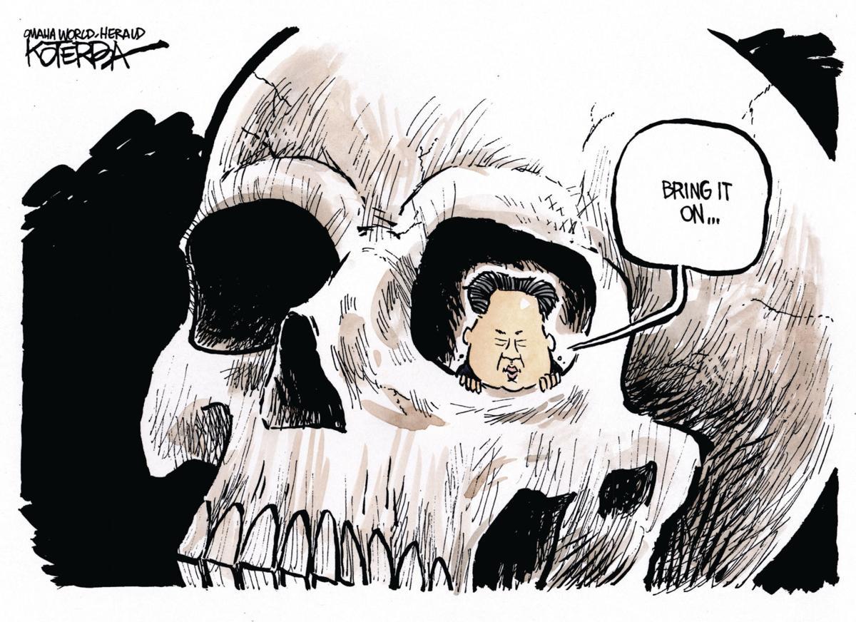 Back at You: Koterba cartoons on North Korea - Sept. 6, 2017