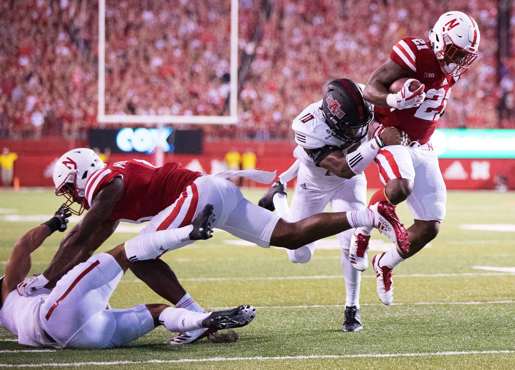 Northern Illinois stuns turnover-plagued Huskers