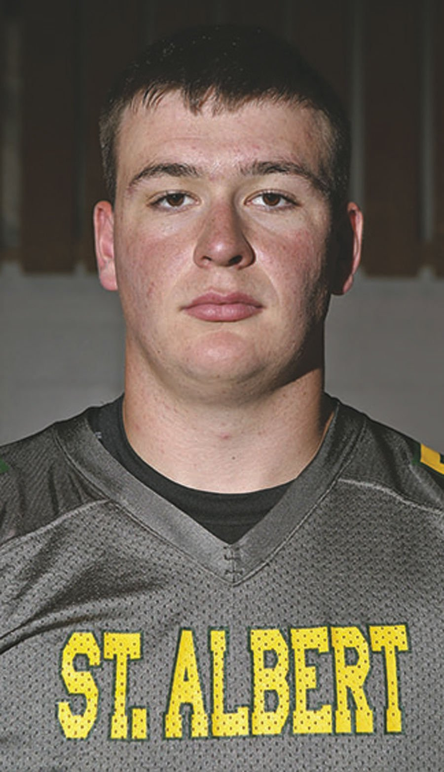 Jaime Bruning Pretty all-western iowa football team captains make impact all over field