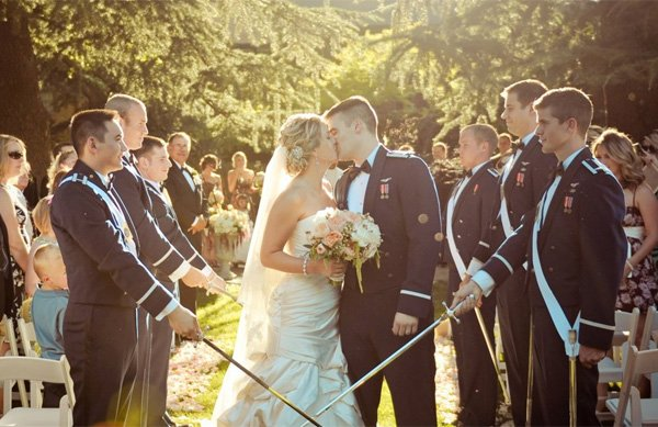 Military Air Force Wedding Essentials Inspiration Omaha