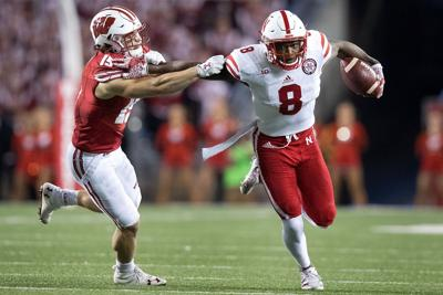 Wide receiver Stanley Morgan is willing, able to carry heavy load for Huskers