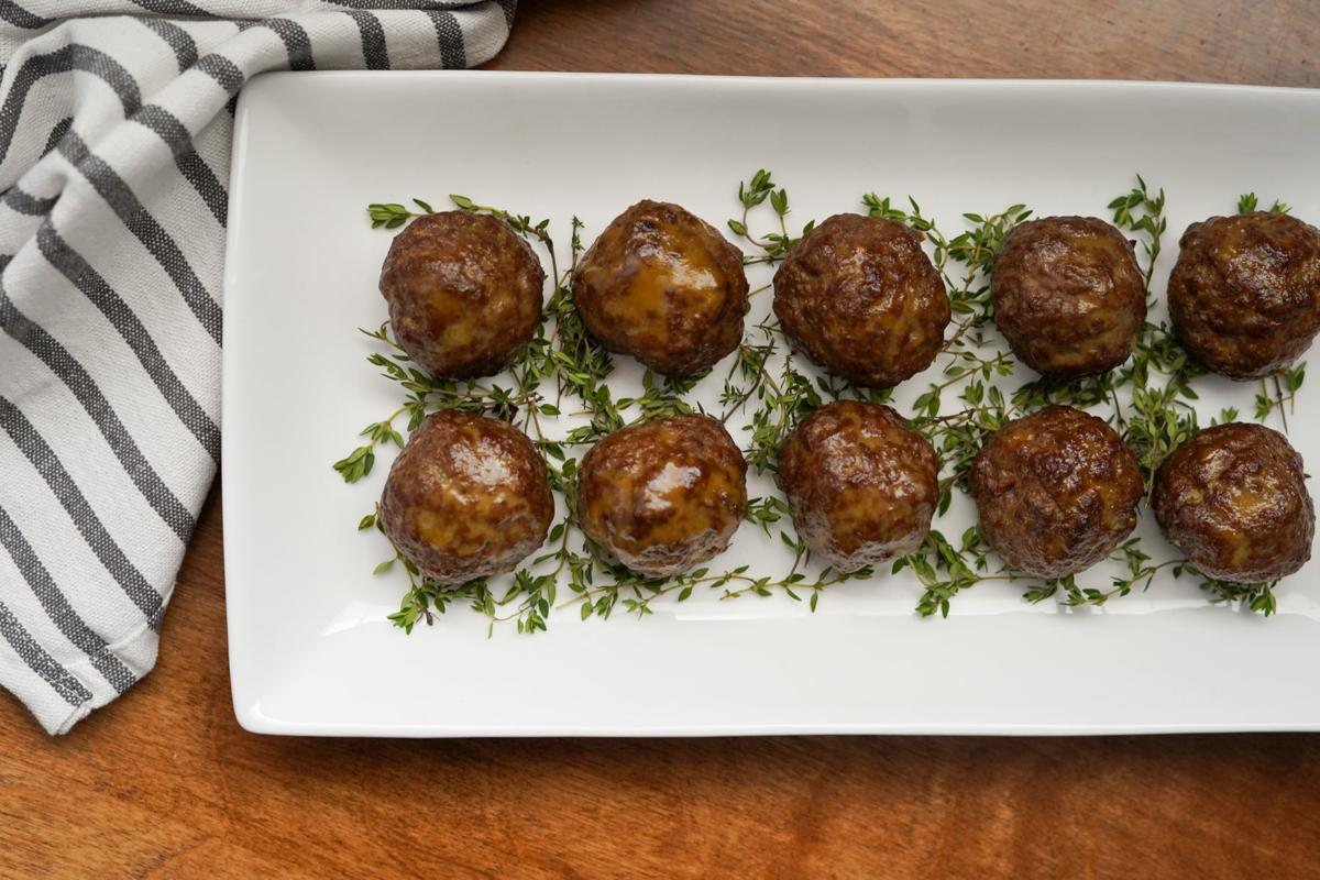 Sweet Sour Meatballs 1