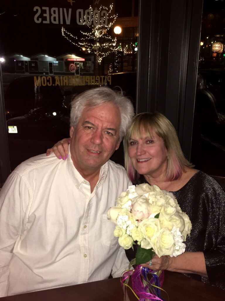 Susan Buffett and John Foley