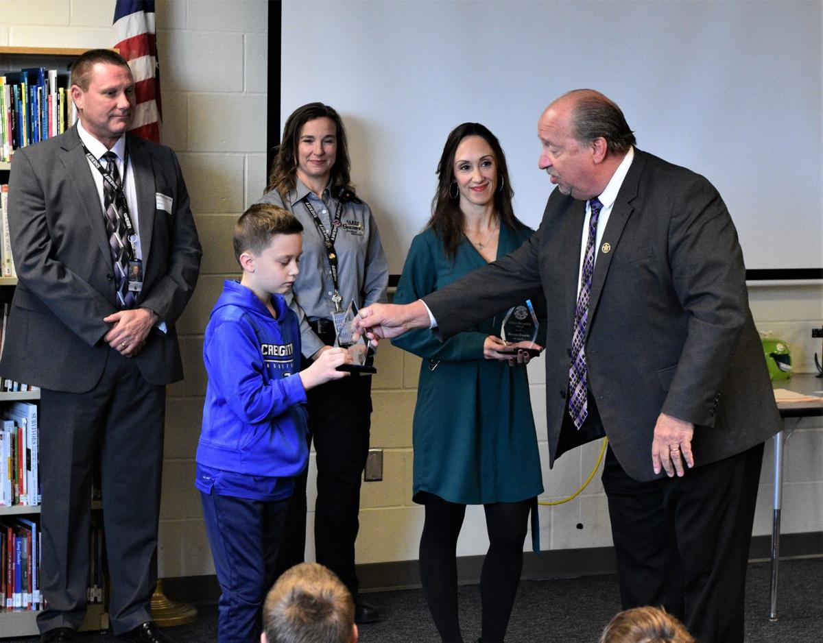 Sheriff Davis honors sixth-grader, nurse who saved toddler from drowning
