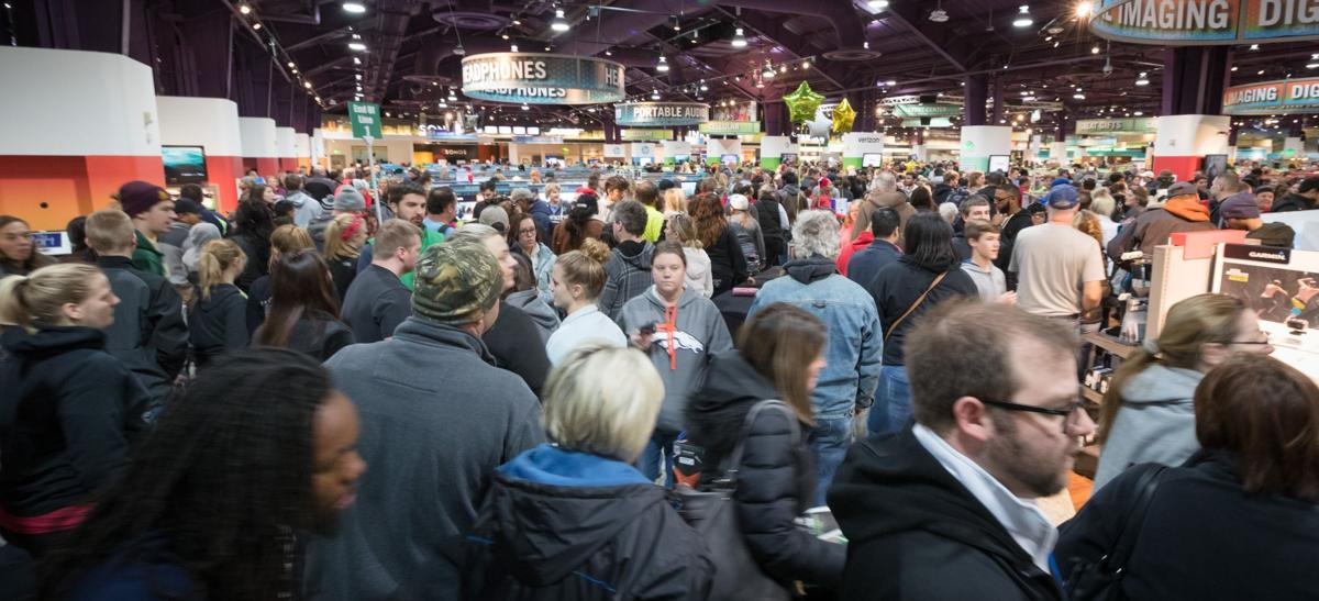 Black Friday Shoppers Hit The Streets For Deals Some