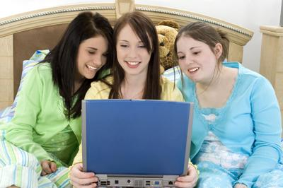 Three Teens and a Laptop