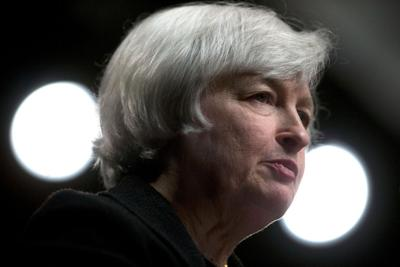 Fed Chair Janet Yellen Speaks At The International Monetary Fund