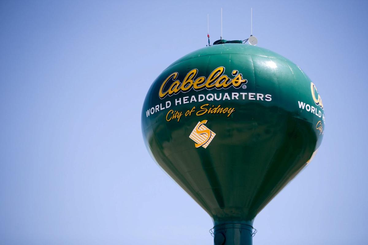 Cabela's water tower