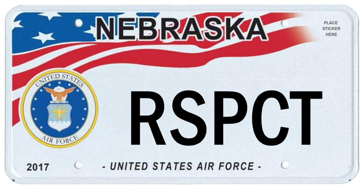 Air Force plate