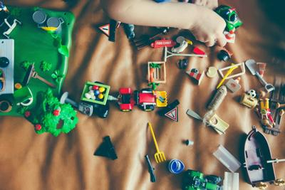 Why is it so hard to get rid of toys and clothes that our kids outgrow?