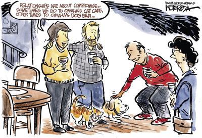 Jeff Koterba's latest cartoon: Really pet-friendly