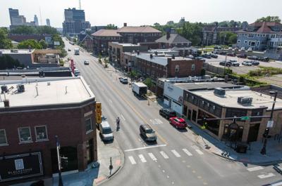 Omaha's Blackstone District proposes wider sidewalks, new lights