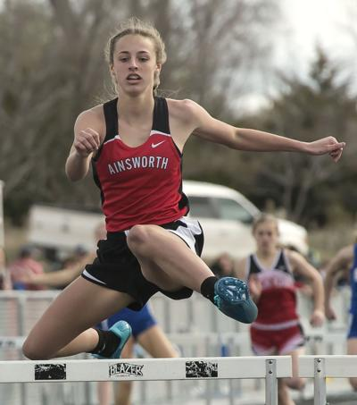 Ainsworth freshman Rylee Rice doesn't love nerves that come with competition, so she usually ends it — fast