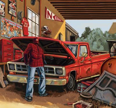 Husker truck