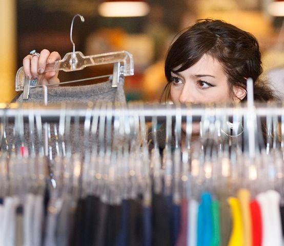 Resale shops lure frugal fashionistas