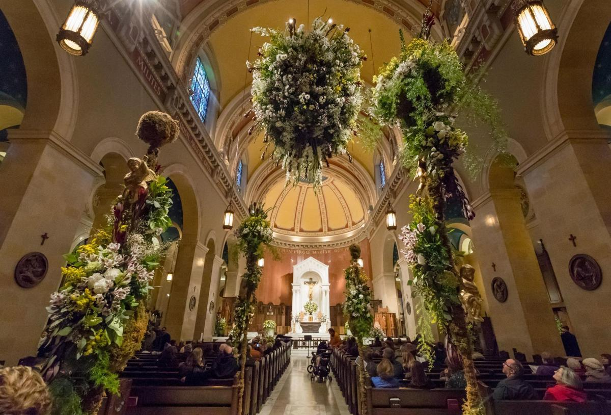 Attend the Cathedral Flower Festival