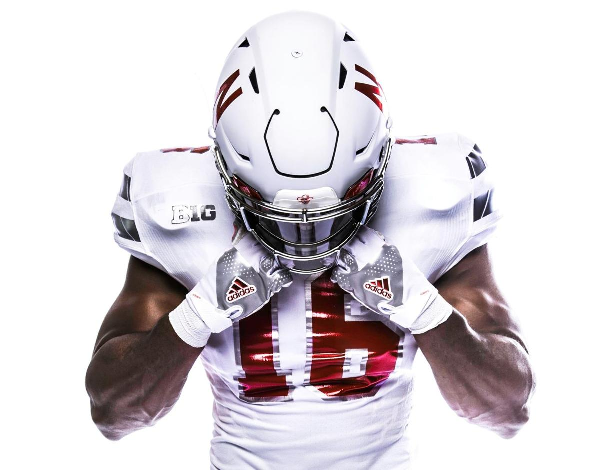 b21ffc4e9 Nebraska unveils all-white chrome alternate uniforms to wear against ...