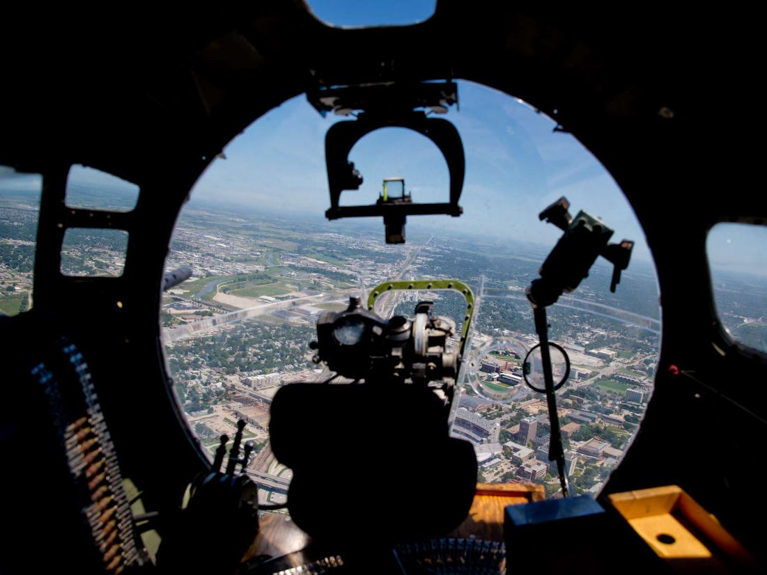 As restored World War II planes drop in on Omaha, history comes thrillingly alive