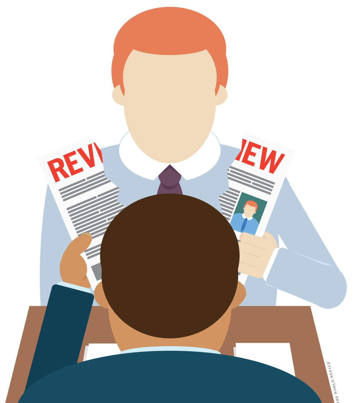 are you getting a performance evaluation at work this year old job reviews
