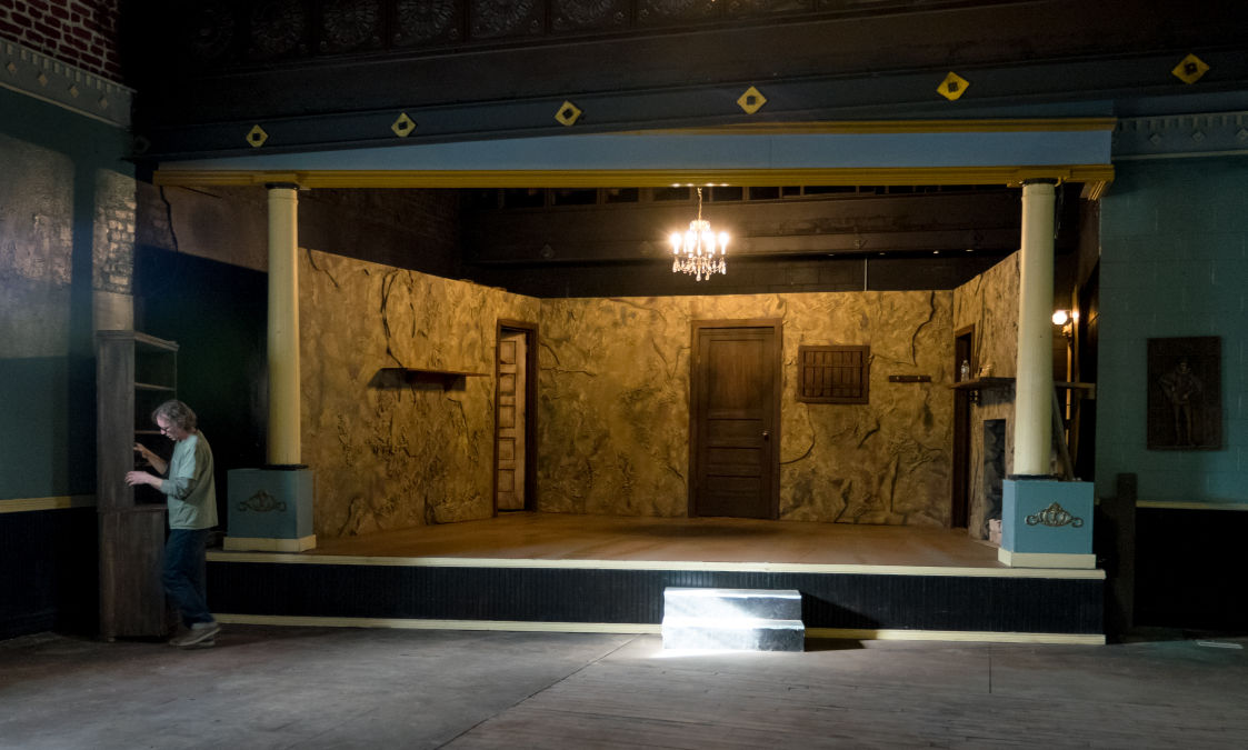 40th Street Theatre - stage
