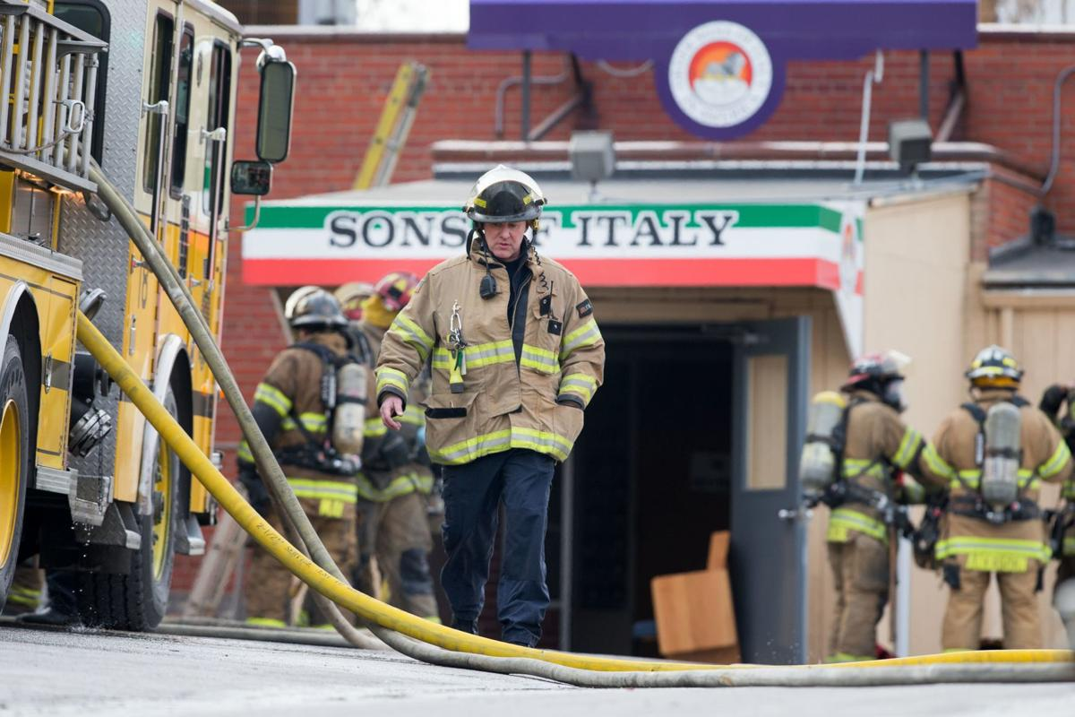 Sons of Italy fire