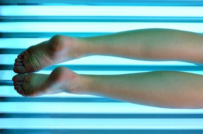 Tanning bed caution
