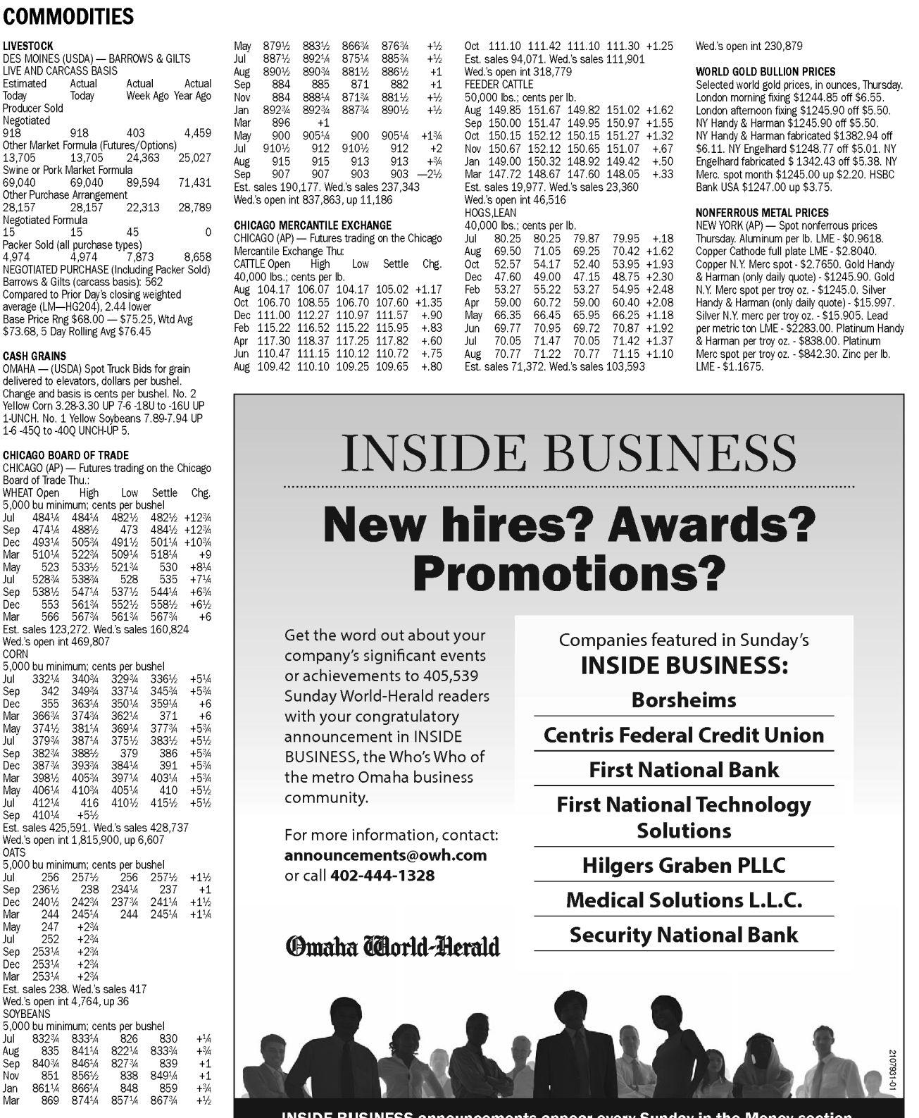 Page A6 main image | Articles | omaha com