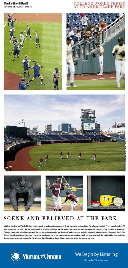 College World Series: Scene and believed Friday at TD