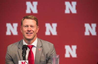 Nebraska coach Scott Frost visiting recruits at metro Omaha schools