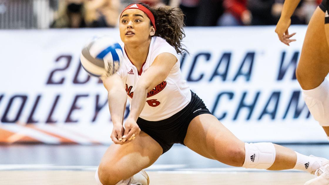 NCAA volleyball tournament notes: Nebraska's next match set; four teams earn first tourney wins