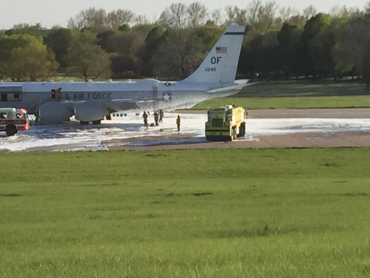 Offutt plane fire - web