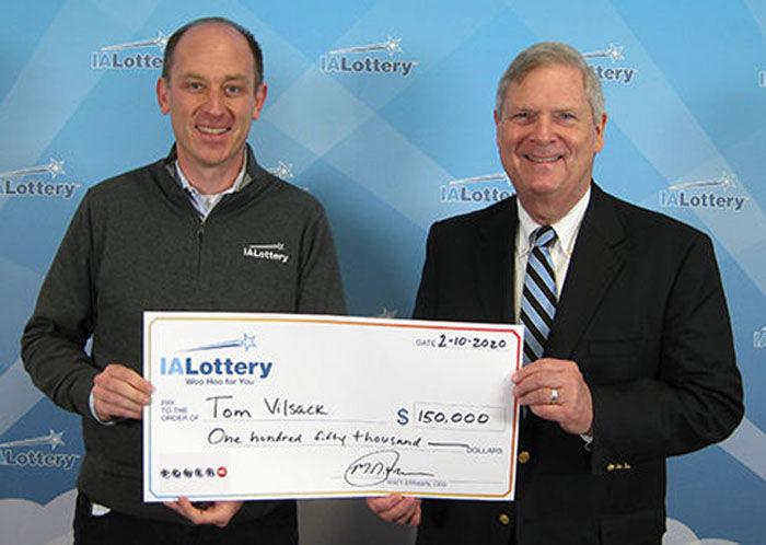 Tom Vilsack-lottery
