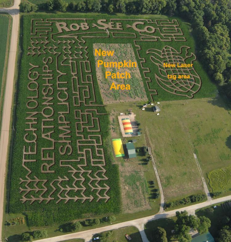 Pumpkin patch & corn maze: a fundraiser for camp fontanelle.