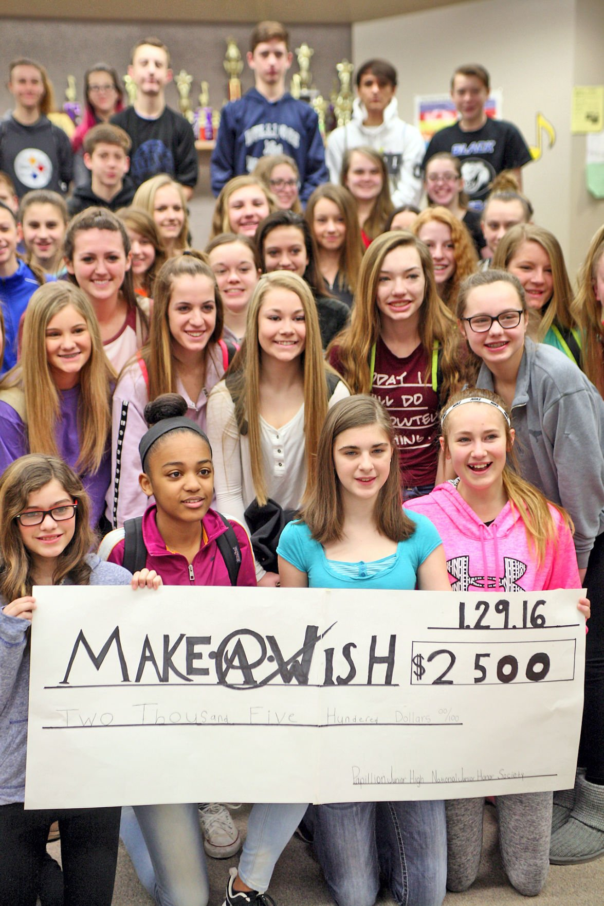 Students grant shopping spree through Make-A-Wish