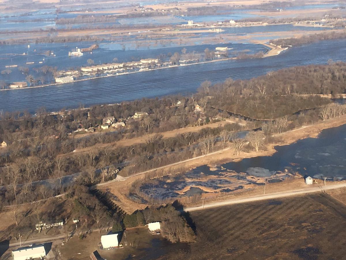 Military facilities feel impact of Nebraska floods