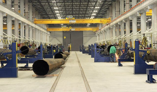 Sabre Industries opens multimillion-dollar plant in Sioux City, doubles workforce