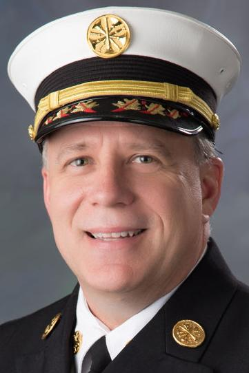 Lincoln Fire Chief Micheal Despain