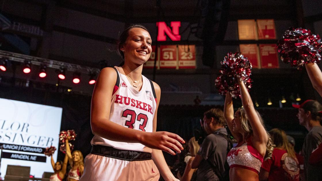 Retired Taylor Kissinger has found a new role with Nebraska women's basketball