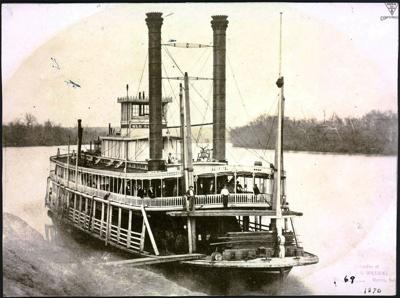 steamboat on Missouri River