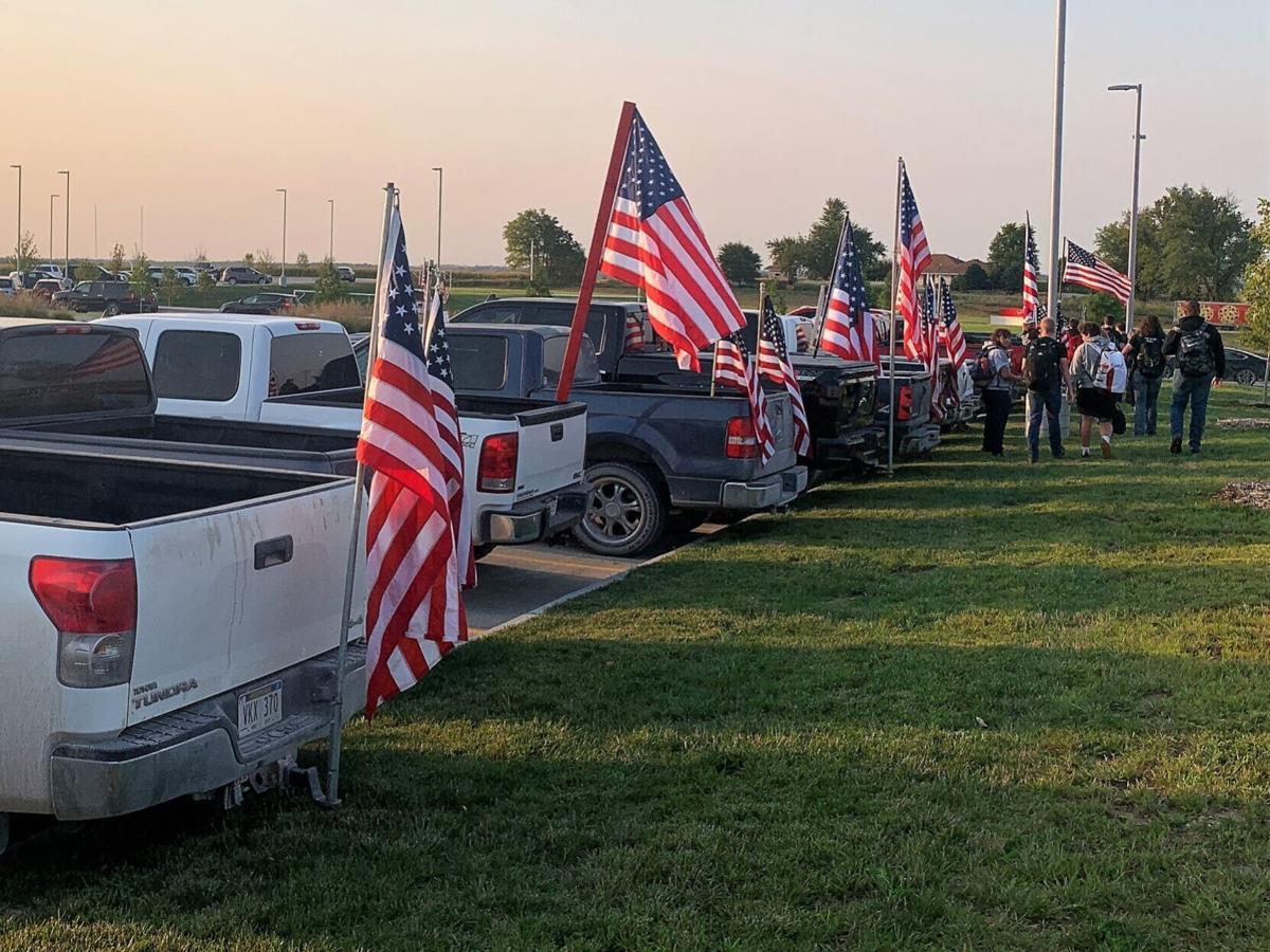 Students create 9/11 Memorial Events - Platteview1