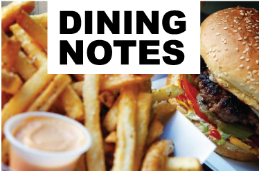 Dining Notes: Friday, Oct. 2