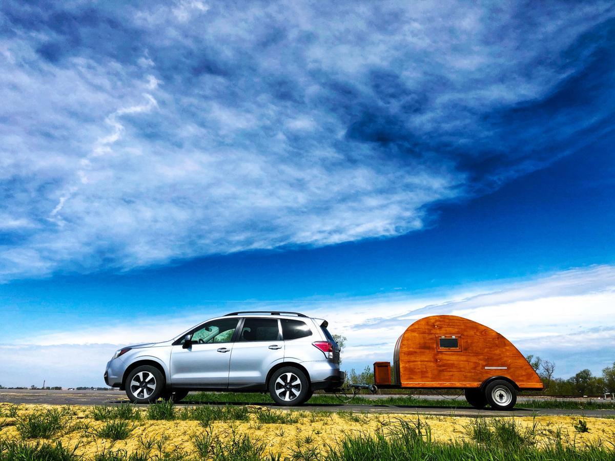 Vivian Kvam's camper