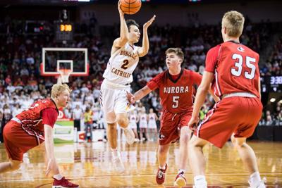 Roncalli senior Taiden Red nearly didn't play the night he turned in record shooting performance