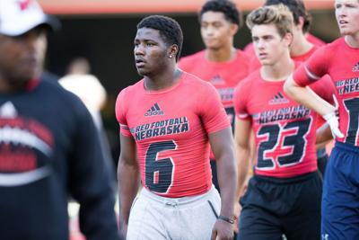 Incoming Nebraska receiver Tyjon Lindsey is used to moving from place-to-place — on and off the field