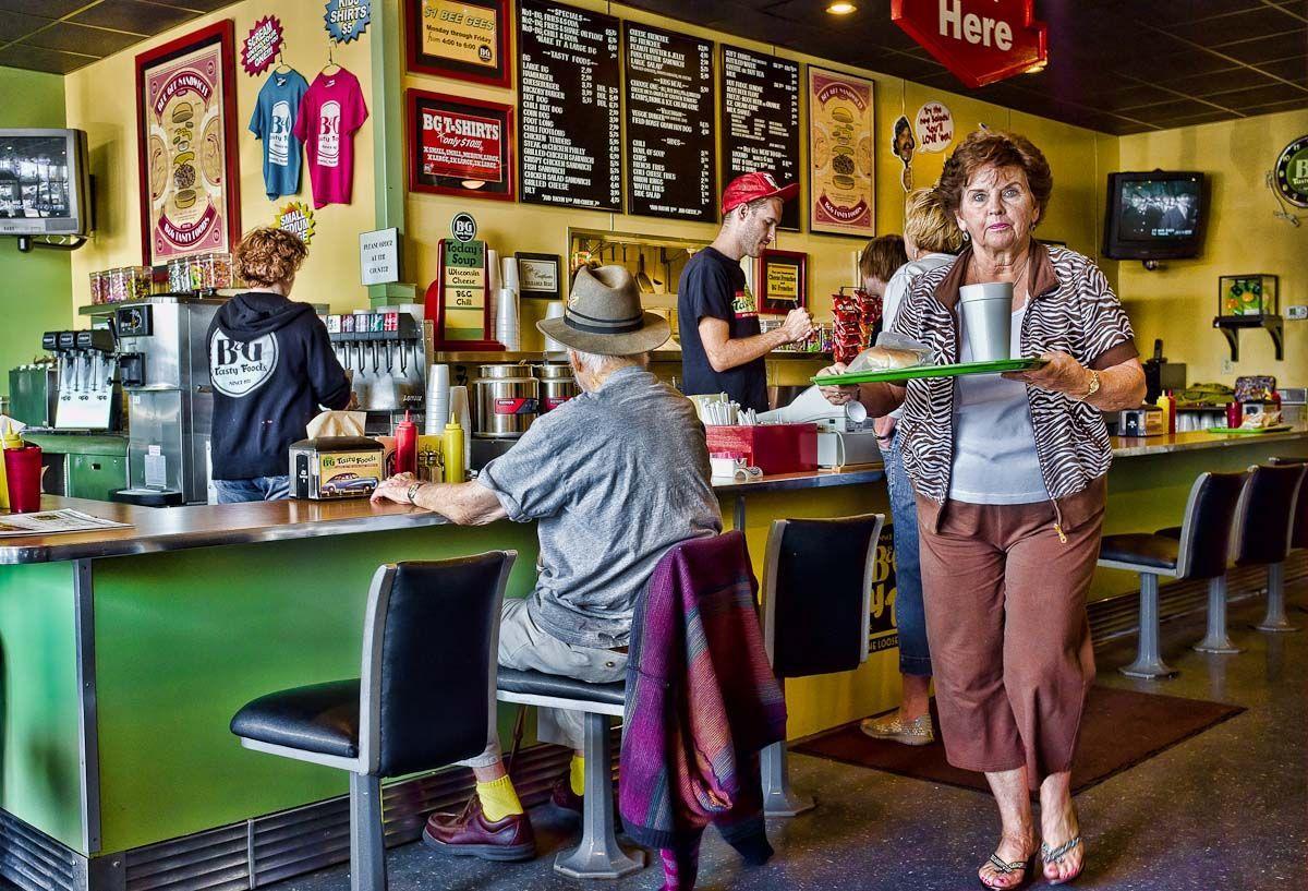 B & G Tasty Foods | Loose Meat Sandwich | Omaha | Customers