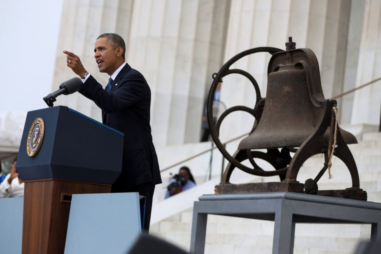 50 years after 'Dream' speech, Obama says it's time for economic equality