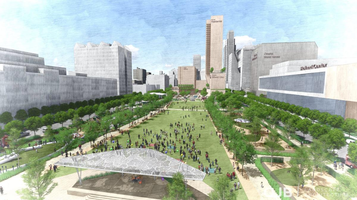 Gene Leahy Mall rendering for online