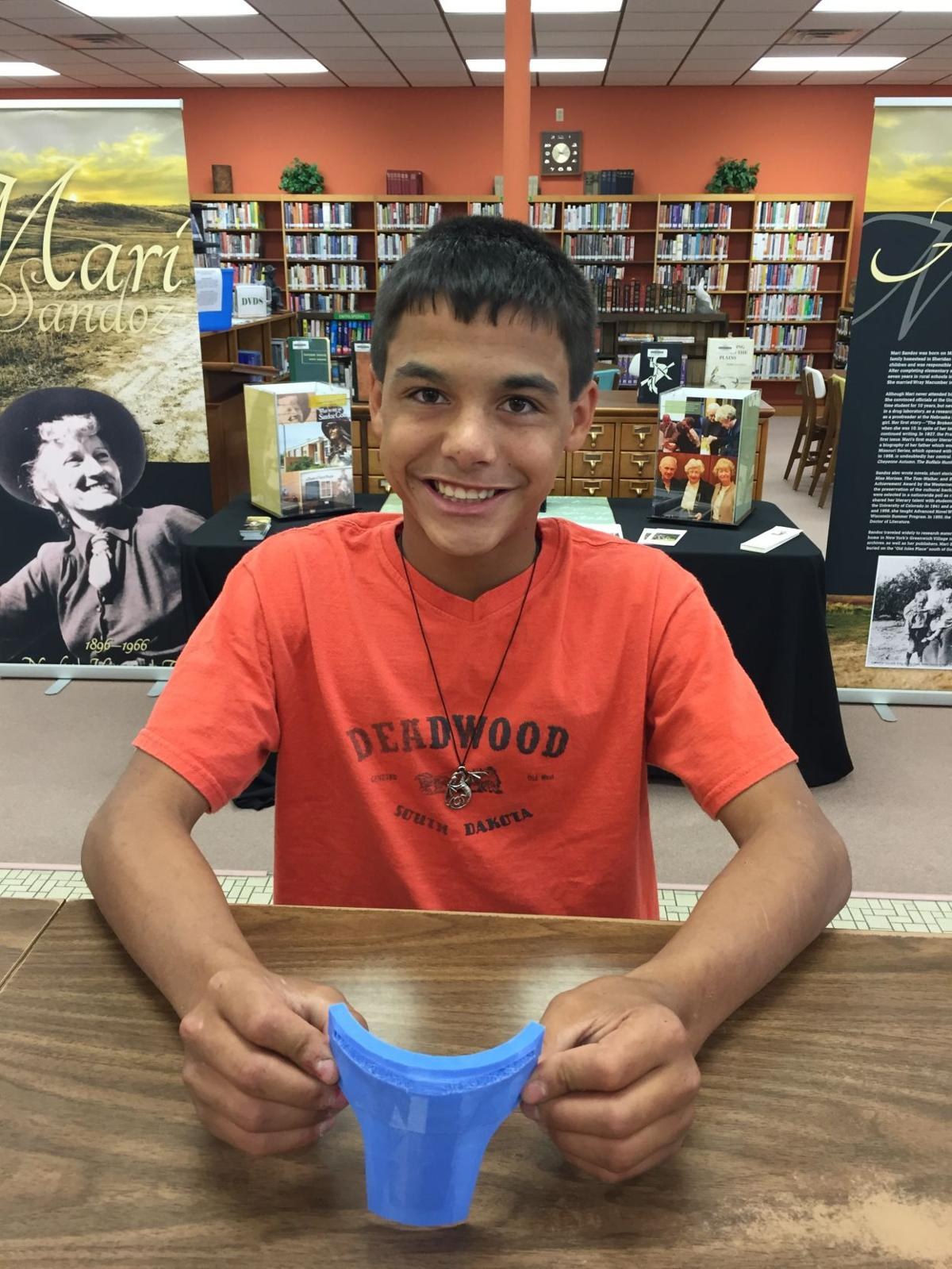 Students in Kimball explore new dimensions thanks to local library and visionary patron