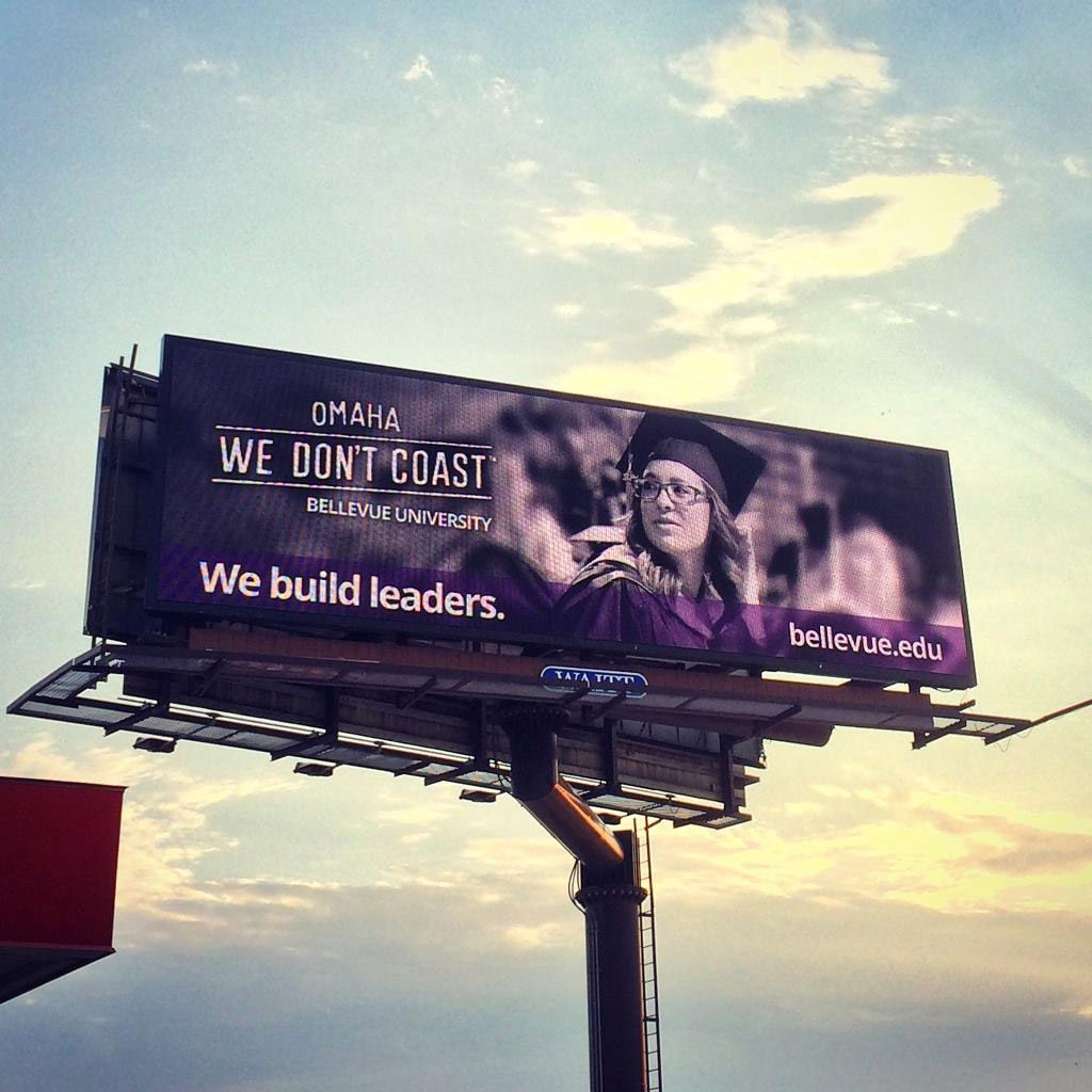 We Don't Coast billboard