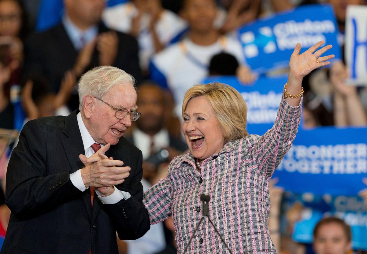 Buffett, Clinton in Omaha